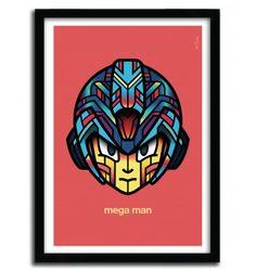 MEGA MAN ( RETROGAMES COLLECTION ) by VAN ORTON - artandtoys.com