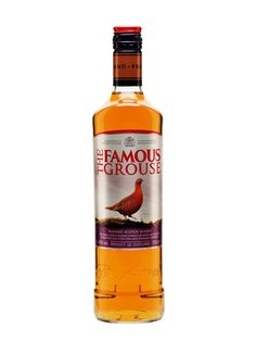 First produced in 1860 (when it was just 'The Grouse'), The Famous Grouse has been the No. 1 whisky in Scotland since Famous Grouse Whisky, Hot Sauce Bottles, Vodka Bottle, Kiwi Cake, Bottle Cake, Alcohol, Scottish Recipes, Cocktails, Drinks