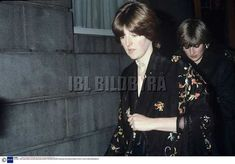 Lady Diana and Her sister outside the Ritz Hotel November 1980