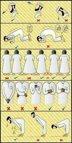 Attitude à avoir pour la prière