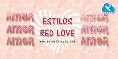 Estilos Red Love para Photoshop   PS Tutoriales