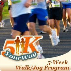 SparkPeople Official 5K Your Way Walk/Jog Program SparkTeam  From: http://www.sparkpeople.com/myspark/groups_individual.asp     I am doing this for the summer. Anyone else want to with me?