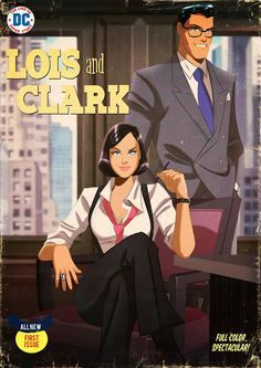 Lois and Clark by Des Taylor Read the short comic story here. Superman And Lois Lane, Adventures Of Superman, Superman Family, Superman Stuff, Dc Comics, Action Comics 1, Comic Book Covers, Comic Books Art, Comic Art