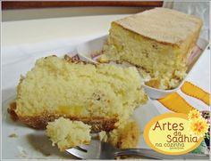 Artes da Sadhia na cozinha : bolo de banana