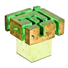 Guy Ngan Brutalist sculpture Abstract Sculpture, Sculpture Art, Decorative Accessories, Decorative Boxes, Digital Art Photography, Abstract Words, Generative Art, Color Stories, Brutalist