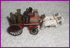Shand Mason Horse Drawn Fire Engine 1905 - Matchbox Y4-2