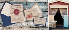 Kraft Wedding Invitation: Rustic and Whimsical water color country barn. $2.00, via Etsy.
