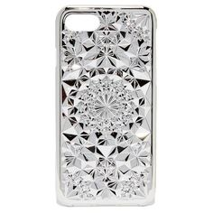 Felony Case Kaleidoscope iPhone 7 Case ($40) ❤ liked on Polyvore featuring accessories, tech accessories, phone cases, silver, iphone cover case, apple iphone case, silver iphone case, iphone cases and print iphone case