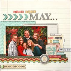 Find Your Wings collection Layout by Tamara Jensen for MME
