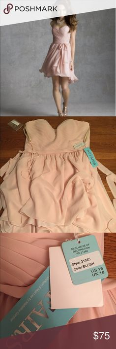 NWT Mori Lee Bridesmaid formal gown Brand new gown with tags.I do  accept reasonable offers. My items priced $15 and under are fairly fixed but I do offer great discounts for bundles. The more you buy the bigger the discount. Mori Lee Dresses Wedding