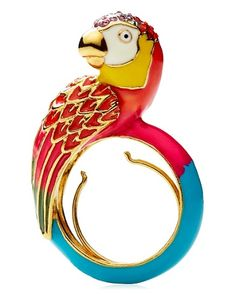 Juicy Couture #parrot ring.