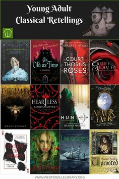 Enjoy these retellings of classical fairy tales before Beauty and the Beast releases in theaters on March For more information about these titles check out this article from YALSA, the Young Adult Library Services Association. Ya Books, I Love Books, Book Club Books, Book Lists, Good Books, Library Books, Book Suggestions, Book Recommendations, Fantasy Books To Read