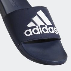 2f9d480a68df Adidas Men s Adilette Cloudfoam Plus Comfort Slides Adidas Logo Slides  Sandals  fashion  clothing