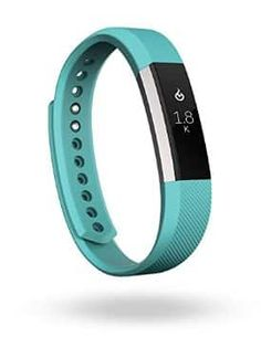 Fitbit ALTA Activity Tracker Fitness Wristband Large Teal for sale online Fitness Armband, Fitness Bracelet, Fitbit Alta, Teal Jewelry, Jewelry Shop, Best Fitness Watch, Bracelets Bleus, Jewelry Bracelets, Teal