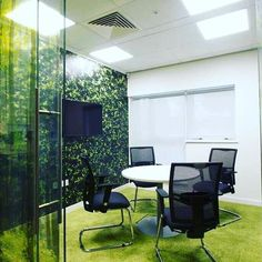 #Biophilic #Design has been proven to improve productivity in the workplace!  #Office #OfficeDecor #OfficeSpace #OfficeDesign #MeetingRoom #Ideas #Inspiration #Style #FitOut #Interior #InteriorDecor #InteriorDesign #Creative #Graphics