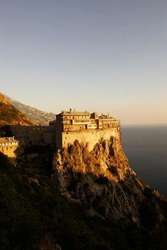 Hiking on Mount Athos, Greece