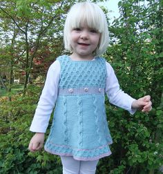 Craft Passions: Over top / Dress..# free #knitting pattern link here