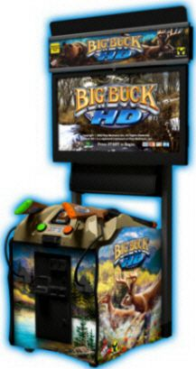 Big Buck HD Mini Video Hunting Game | Offline Model | From Raw Thrills |   Get more information about this game at: http://www.bmigaming.com/bigbuckhunter.htm