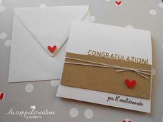 Card per un matrimonio - Roberta