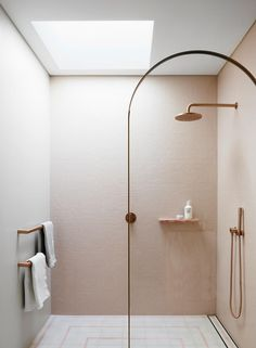 A collection of stellar Australian art is the linchpin of this house which embodies sophisticated curation and a relaxed approach to family living. Bathroom Renos, Bathroom Interior, Small Bathroom, Design Bathroom, Master Bathroom, Bathroom Ideas, Walk In Shower Designs, Upstairs Bathrooms, Australian Art