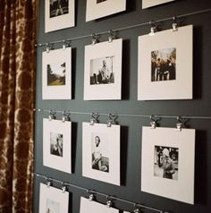 Family History Wall Display Tree Art New Ideas Hanging Family Photos, Display Family Photos, Family Photo Frames, Hanging Pictures, Family Pictures, Decorating Your Rv, Diy Foto, Display Design, Display Ideas