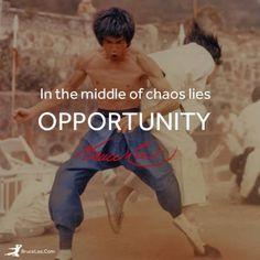 Martial arts legend, Bruce Lee