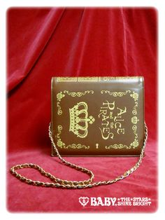 Fairy tales book purse by Alice and the Pirates.  $213
