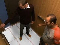Ecrans LG au sol d'un ascenseur - Vidéo Dailymotion