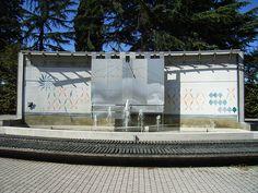 Fontana e Meridiana al Museo Civico di Montebelluna  #TuscanyAgriturismoGiratola