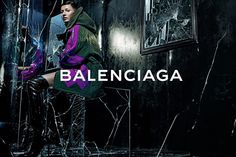 GISELE BÜNDCHEN FOR BALENCIAGA'S FALL/WINTER 2014 CAMPAIGN
