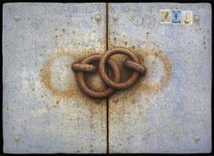 Alan Magee : Rings : 2010 : acrylic and oil on panel