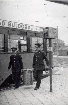 Trampersoneel van de RET in 1939