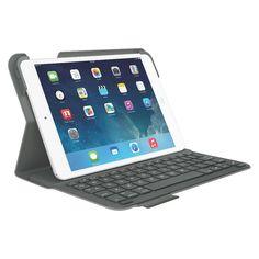 Logitech Keyboard Folio for iPad mini - Veil Grey (920-006030)