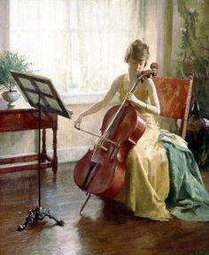 Howard Everett Smith (1885-1970)  —   The Cello Recital (498x610)