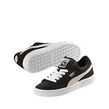 Puma Chaussures en Velours Classique pour Enfants, 38 EU, Desert Flower/Metallic Gold
