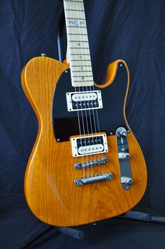 "Seymour Duncan TeleGib guitar. Originally used by Jeff Beck on his classic ""Blow by Blow"" record."