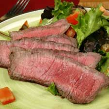 Recette Bifteck de flanc à l'orientale - Coup de Pouce