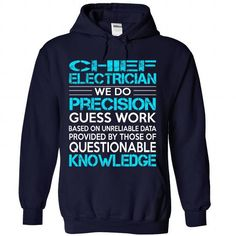 Awesome Shirt For Chief Electrician - #hoodie novios #university sweatshirt. PURCHASE NOW => https://www.sunfrog.com/LifeStyle/Awesome-Shirt-For-Chief-Electrician-4877-NavyBlue-Hoodie.html?68278