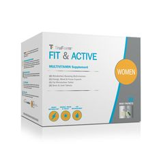 TruForm™ Women's Fit & Active - Comprehensive Daily Vitamin and Supplement Packets to fit your lifestyle | Complete Nutrition #FindyourTruForm #multivitamin #energy #mood #focus #bone #joint #metabolizefat #boostmetabolism