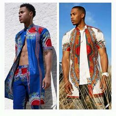 If you're on a search for Nigerian Ankara styles for men that will turn you into a best-dressed man anywhere you go,you are on the site,Cos we have the latest and most elegant Ankara styles for men that will give you that great look you desire. African Inspired Fashion, African Print Fashion, Africa Fashion, African Attire, African Wear, African Dress, African Outfits, African Clothing For Men, African Shirts