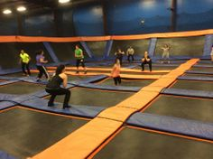 Did you ever think it was possible to burn up to 1,000 calories per hour, and still have FUN doing it? Join us for SkyRobics at Sky Zone Providence!