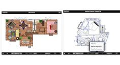 Mark on Call from Mark Lewison is one of the most intuitive and versatile floorplan apps available. You can create customized floor plans for an entire house or just one room—and you can customize them to