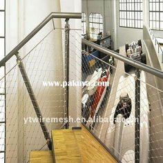 metal mesh handrail - Google Search