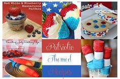 4th Of July Patriotic Themed Recipes