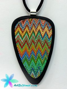 Faux Embroidery - Polymer Clay