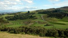 Braid Hills Golf, Edinburgh, Scotland