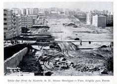 Alameda Dom Afonso Henriques e Av. Almirante Reis Antique Photos, Old Photos, Dubai Information, Lisbon Portugal, Capital City, New York Skyline, Past, History, Funny Things