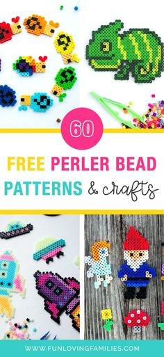 Whether you're new to using Perler beads or are a die-hard fan looking for inspiration, you'll find everything you need in this post. We're answering all of your Perler Bead questions, including what to make, where to find free patterns, and how to make your own patterns. #perlerbeads #crafts #kidscrafts #kidsactivities #activities #parenting #craftideas #funforkids Easy Knitting Projects, Cool Diy Projects, What To Make, Make Your Own, Make It Yourself, Diy For Kids, Crafts For Kids, Backyard Games Kids, Quick And Easy Crafts