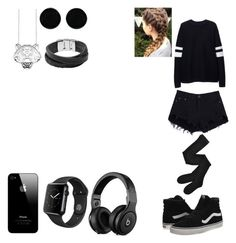 """Untitled 29"" by galaxy-cat19 ❤ liked on Polyvore featuring Kenzo, Fogal, Zara, Vans, AeraVida and FOSSIL"