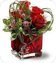 Mooi bloemstukje